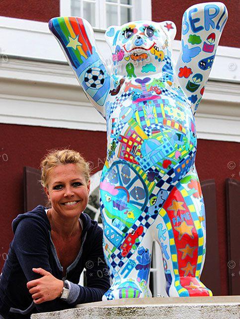 Kauperts Buddy Bär. 2011. Artist Anja Boje.